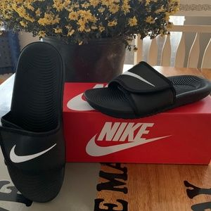 Nike Kawa Adjustable Slides Sandals